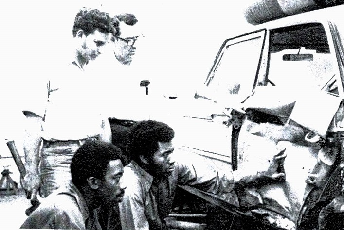 Auto Body Repair Students 1970s