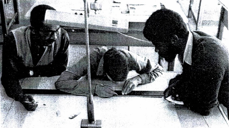 Drafting-Building Trades Students 1970s