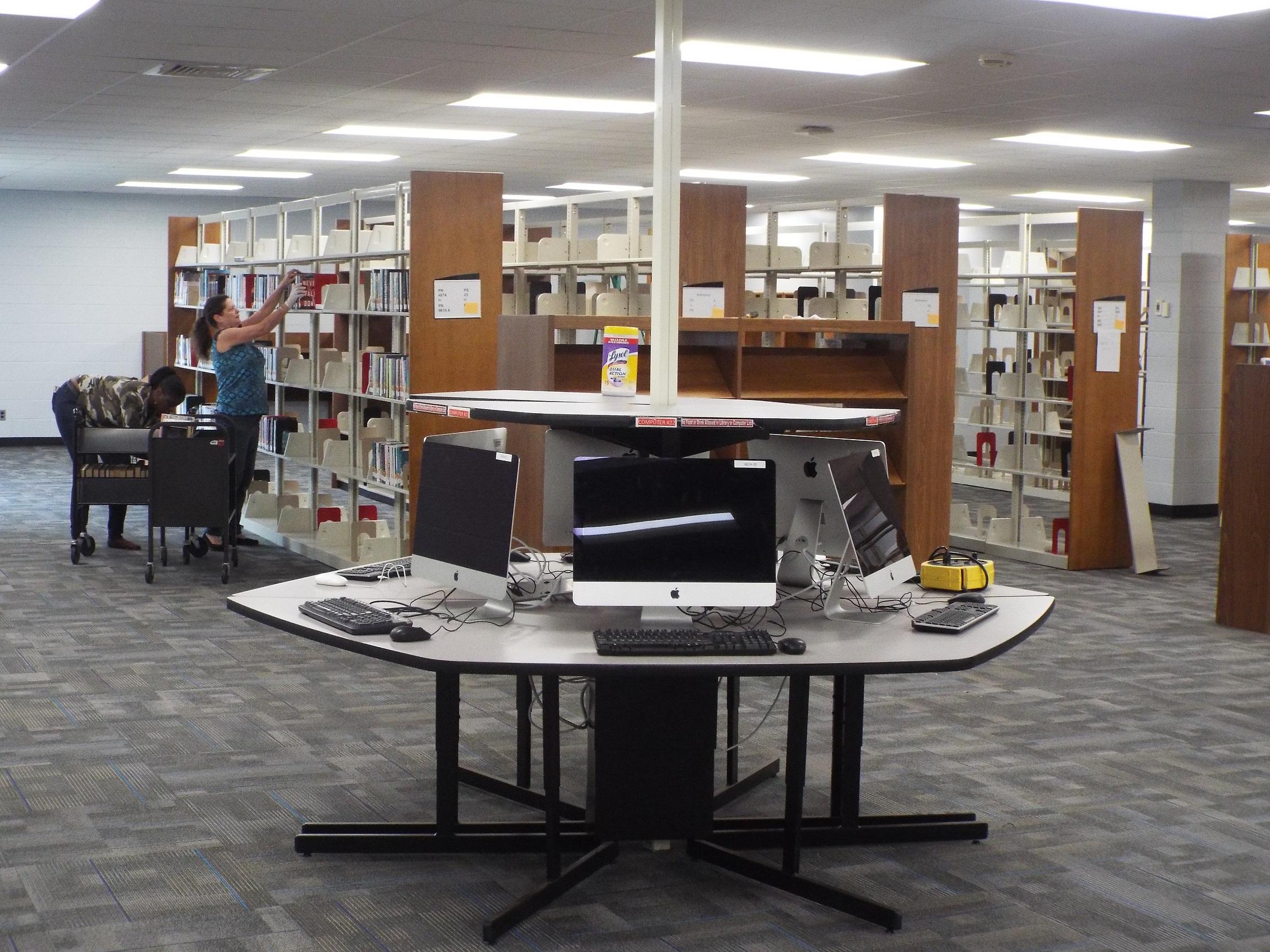 Re-shelving the Books