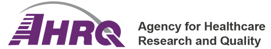 Agency for Healthcare Research and Quality (AHRQ) logo with link to website where information is located.