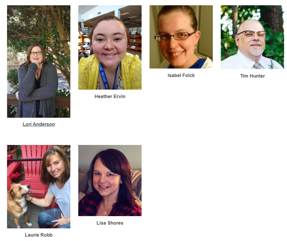 Profiles of all the RCCC Librarians