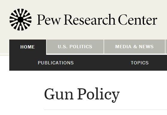 Logo from pew research