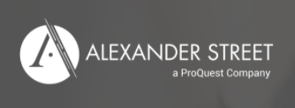 Logo of Alexander Street