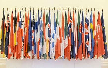 Flags of the OECD