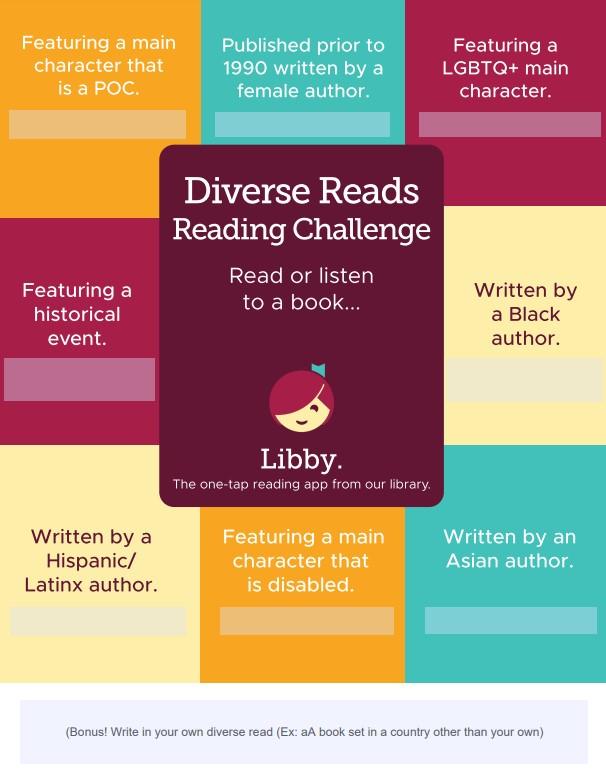 Scorecard for Diverse Reads