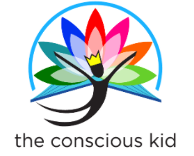 logo from the concious kid