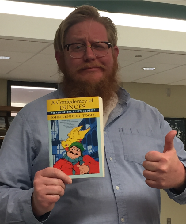 Zach Housel and Confederacy of Dunces