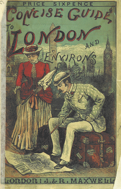 Book cover: Concise Guide to London and Environs