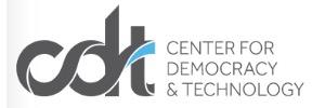 Center for Democary & Technology logo