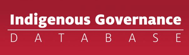 Indigenous Governance Database logo
