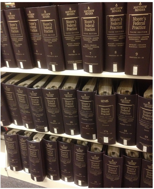 Moore's Federal Practice volumes