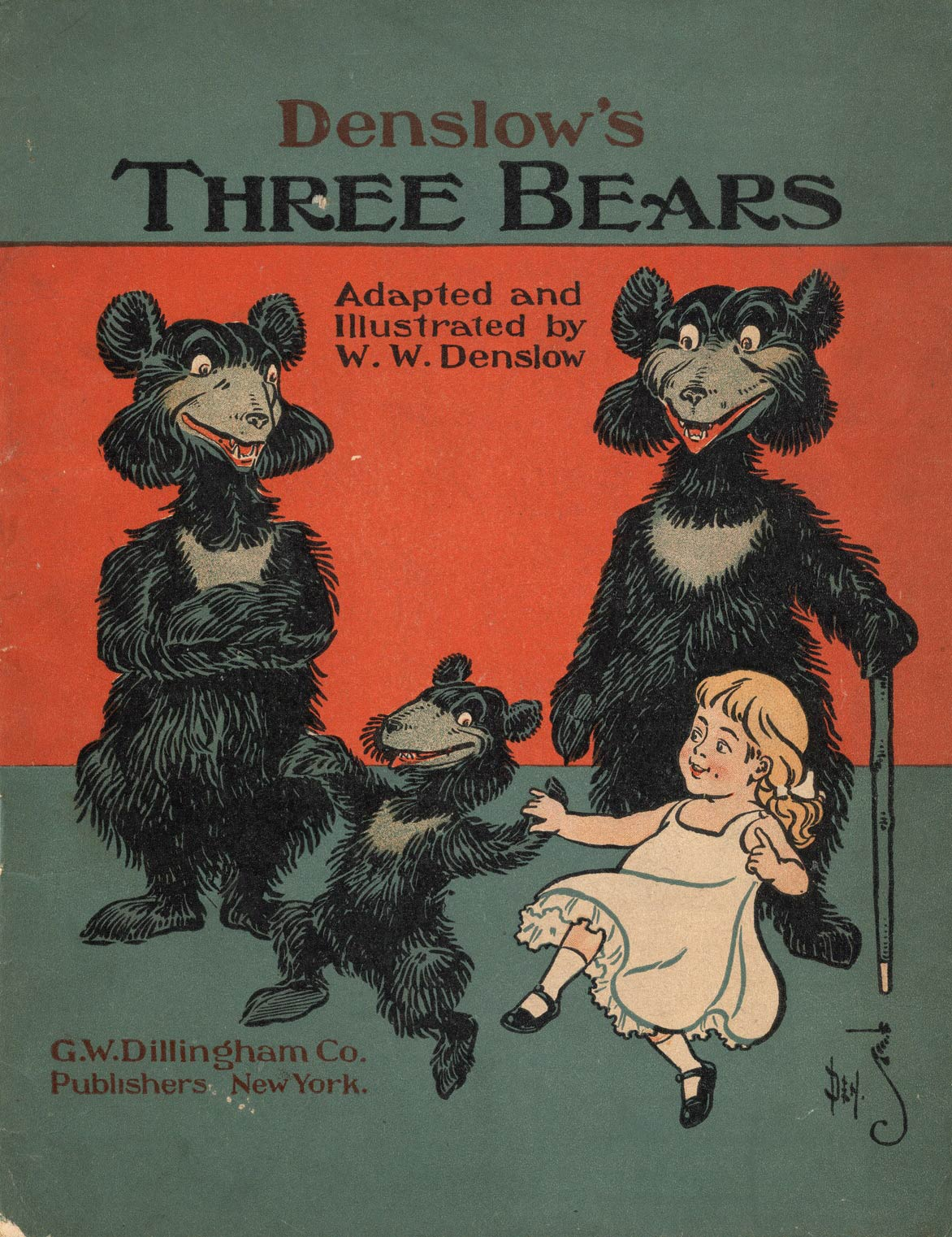 Three Bears book cover