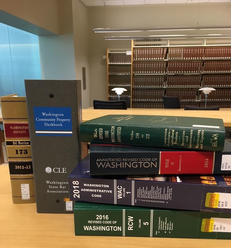 Photo Wash statutes deskbook WAC