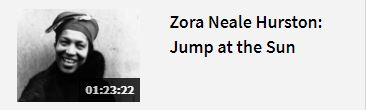 Link to Zora Neale Hurston: Jump at the Sun