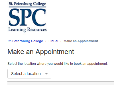 image on how to make an appointment