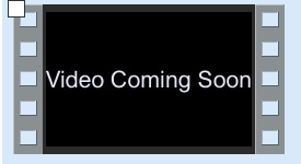 Video Coming Soon sign