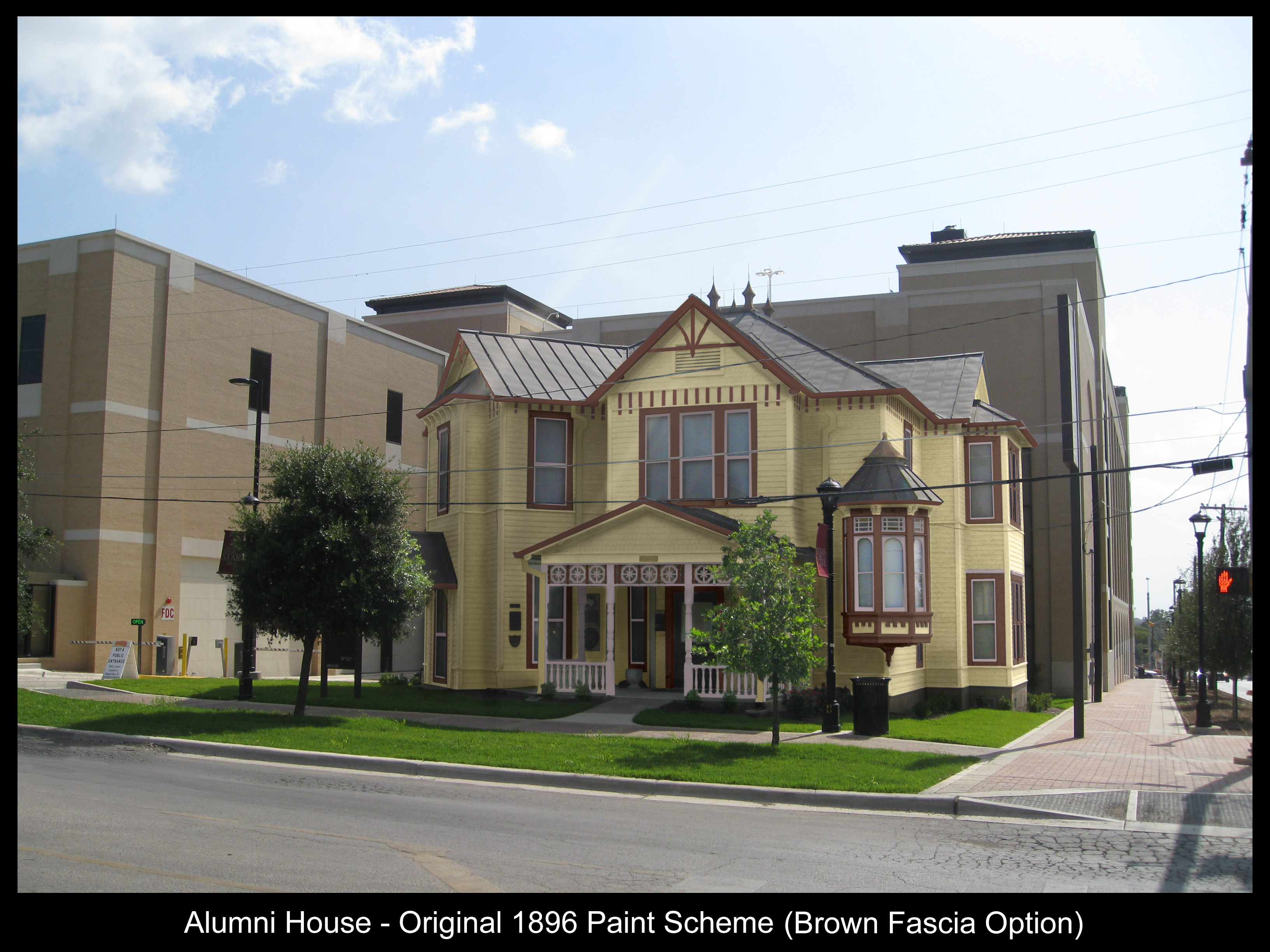 Alumni House restored