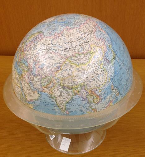 Earth globe 1961