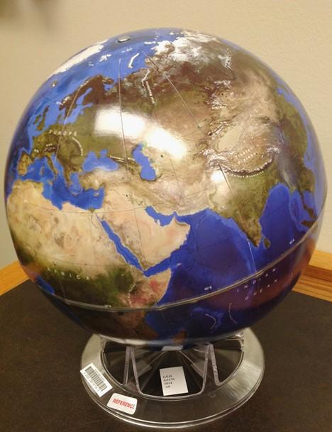Earth 2014  relief globe