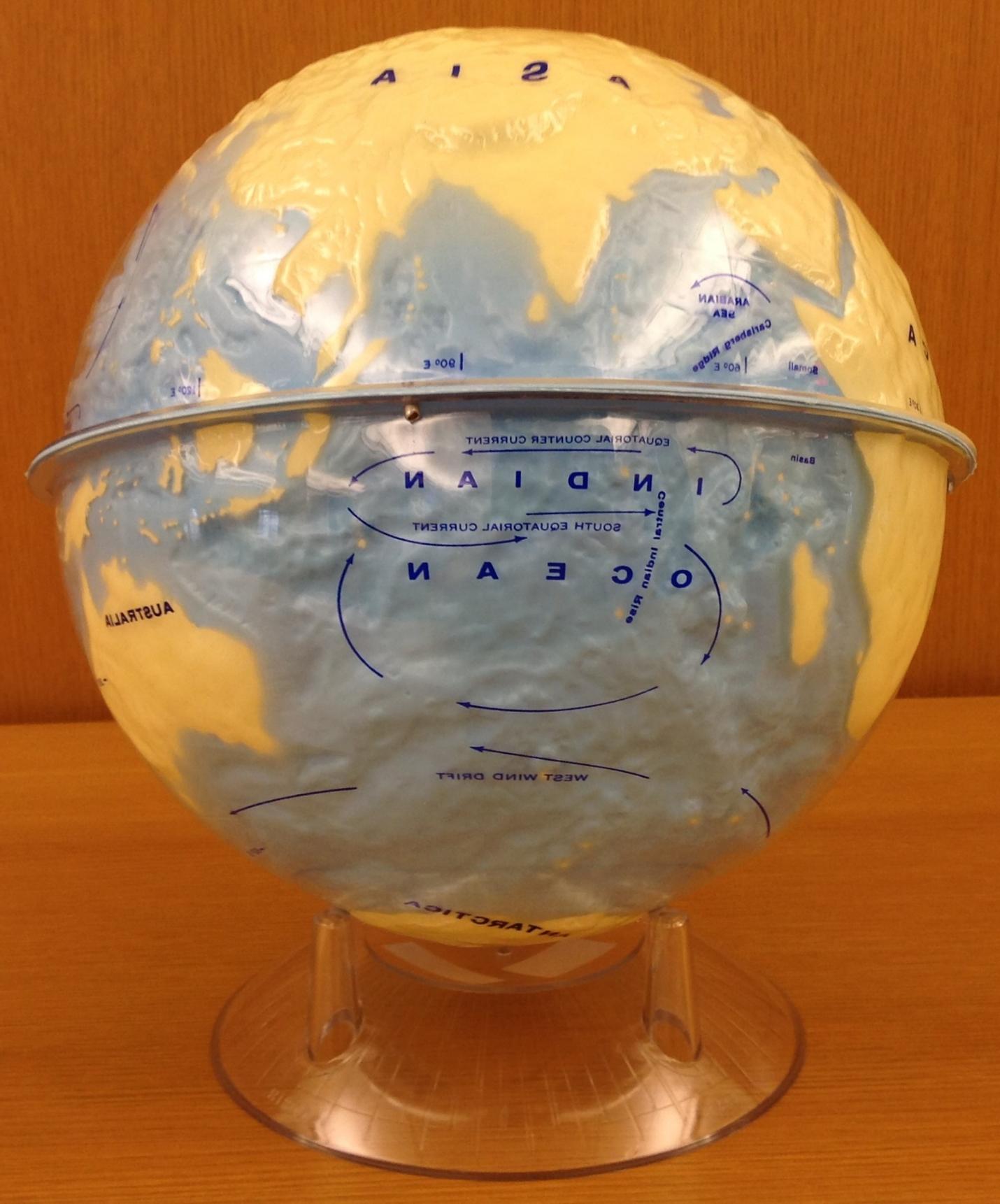 Earth (Hydrographic Relief) globe