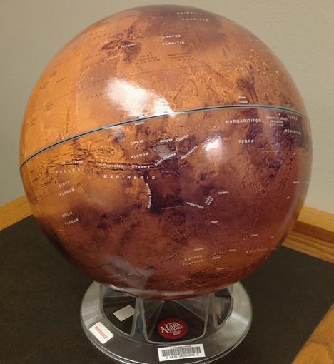 Mars 2005 globe