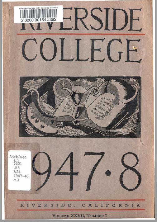 1947-1948 Riverside City College Catalog
