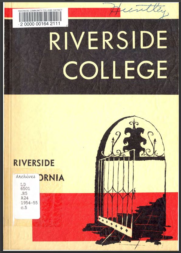 1954-1955 Riverside City College Catalog