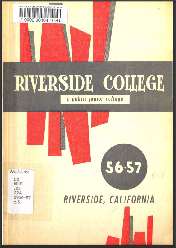1956-1957 Riverside City College Catalog
