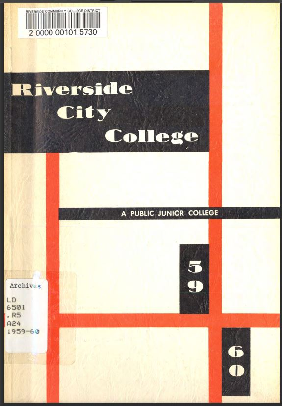 1959-1960 Riverside City College Catalog