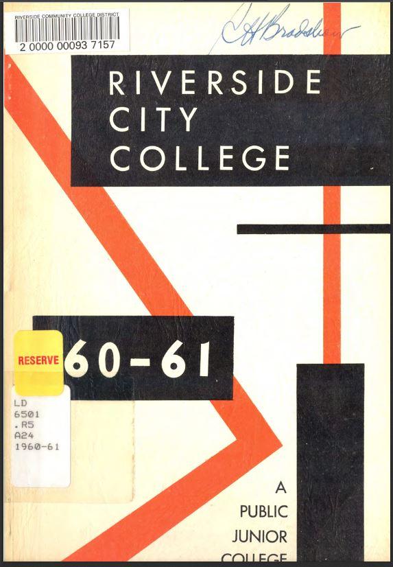 1960-1961 Riverside City College Catalog