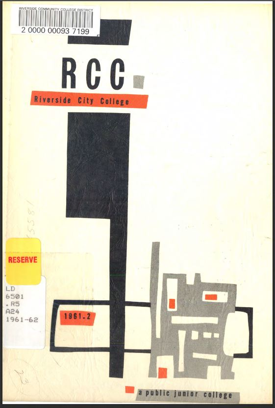 1961-1962 Riverside City College Catalog