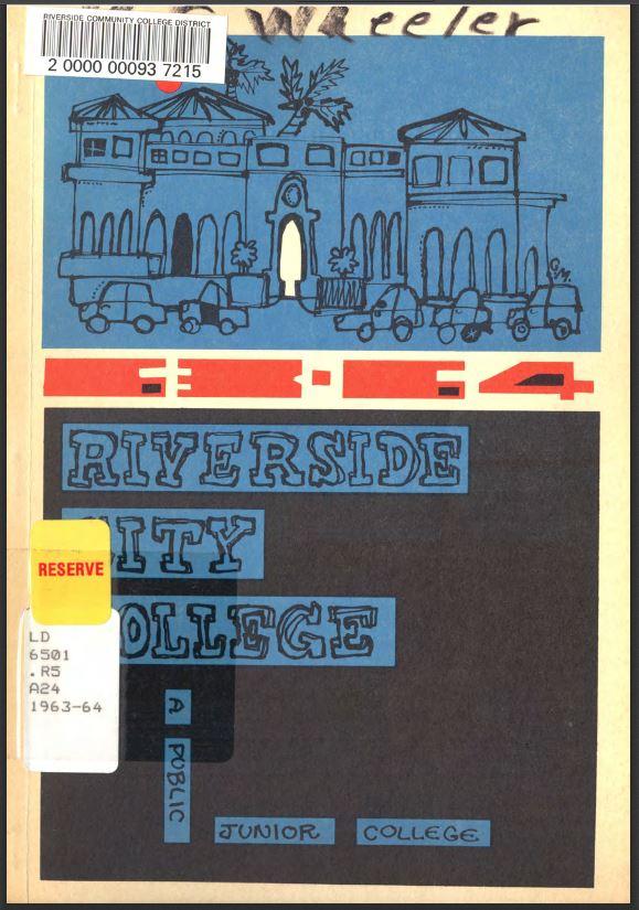 1963-1964 Riverside City College Catalog