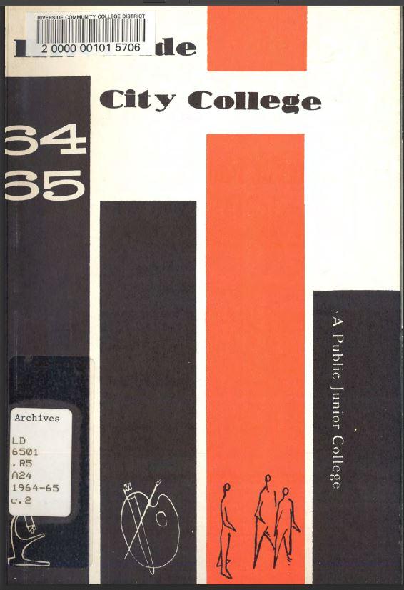 1964-1965 Riverside City College Catalog