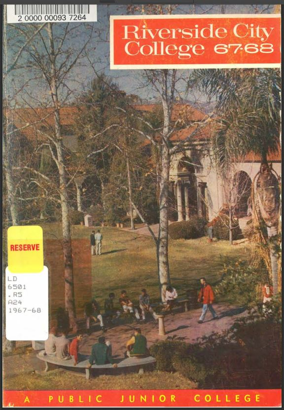 1967-1968 Riverside City College Catalog