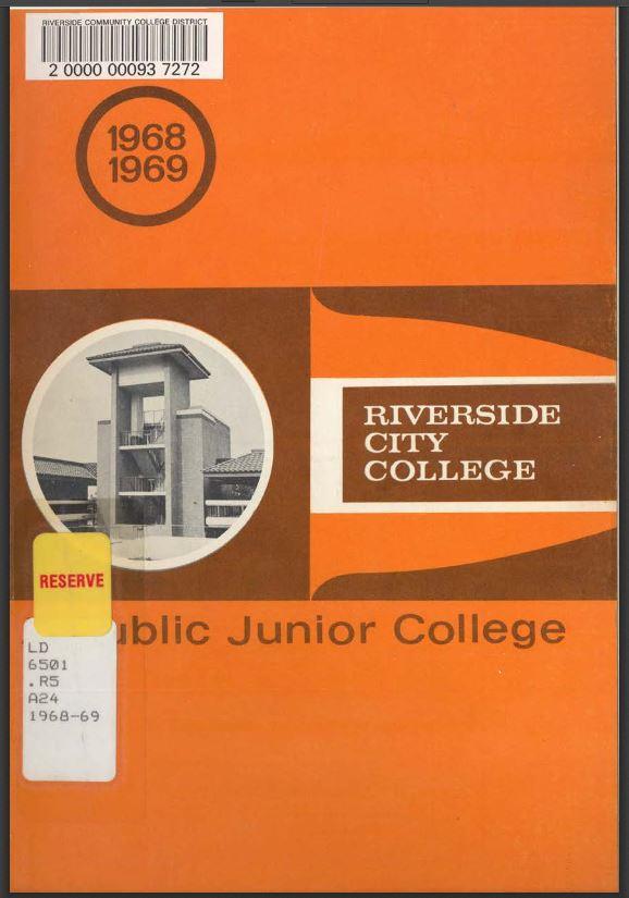 1968-1969 Riverside City College Catalog