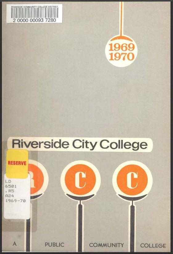 1969-1970 Riverside City College Catalog