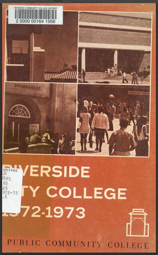 1972-1973 Riverside City College Catalog