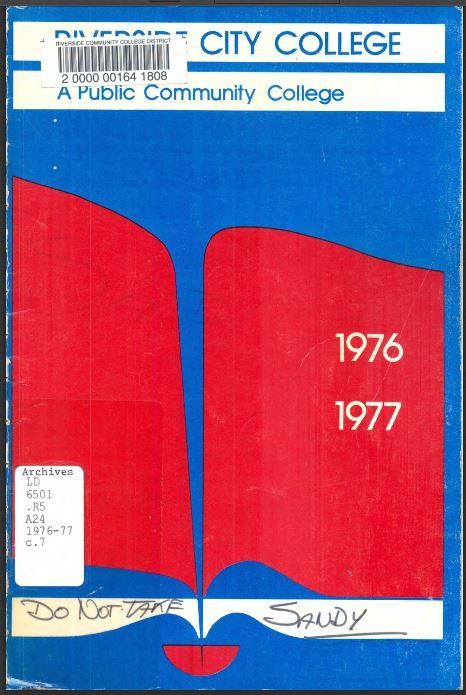 1976-1977 Riverside City College Catalog
