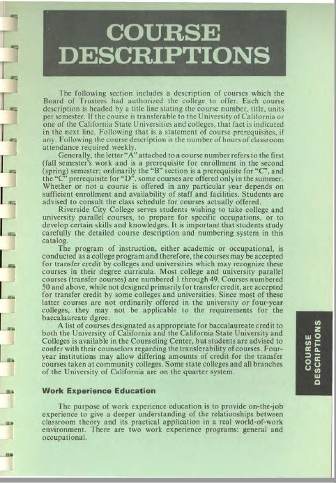 1977-1978 Riverside City College Catalog