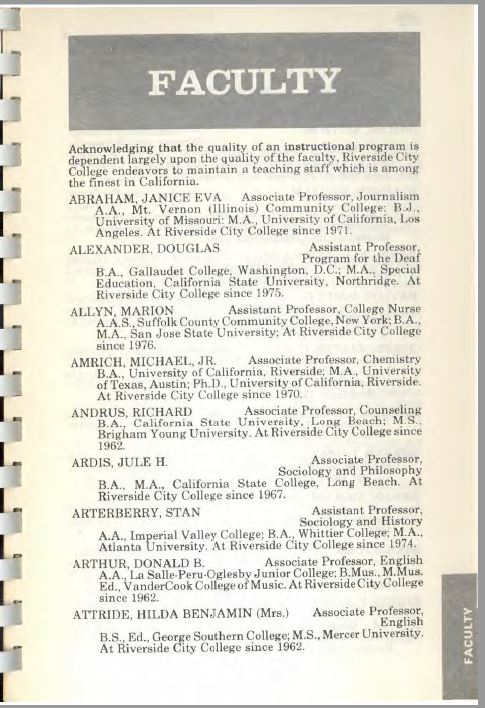 1978-79 Riverside City College Catalog
