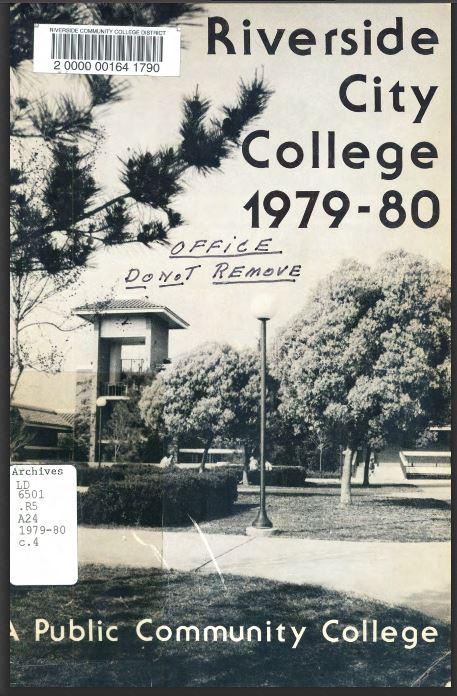 1978-1979 Riverside City College Catalog