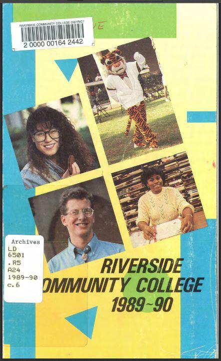 1989-1990 Riverside City College Catalog