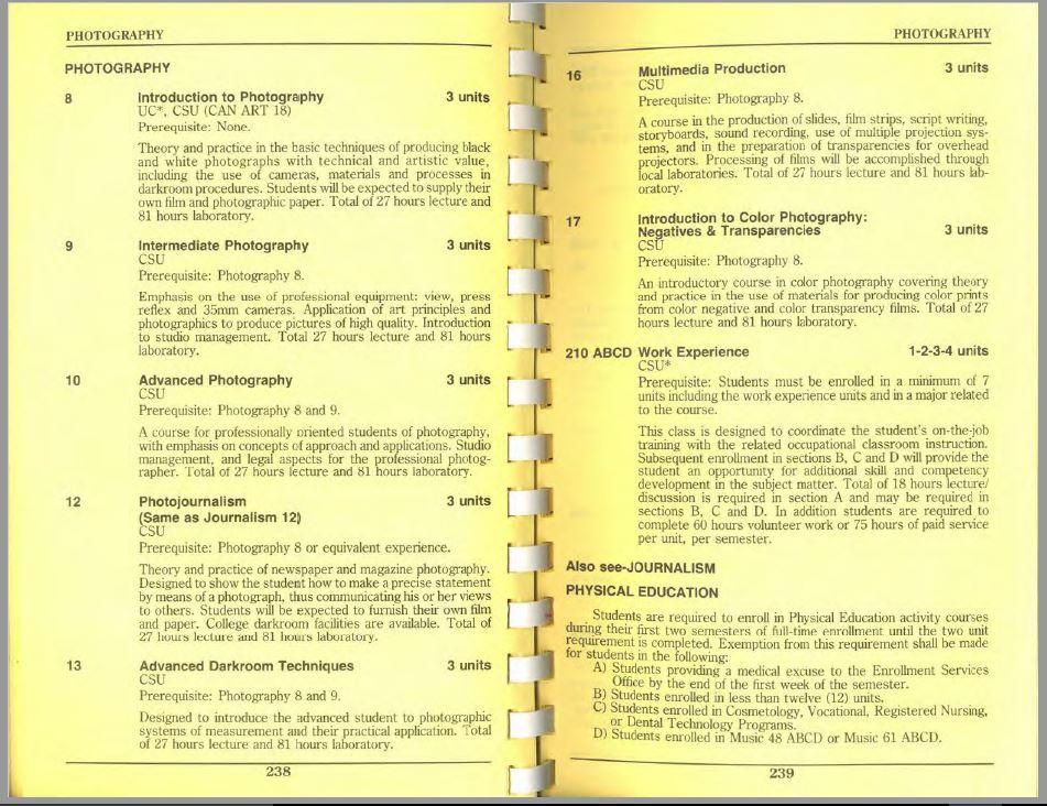 1990-1991 Riverside City College Catalog