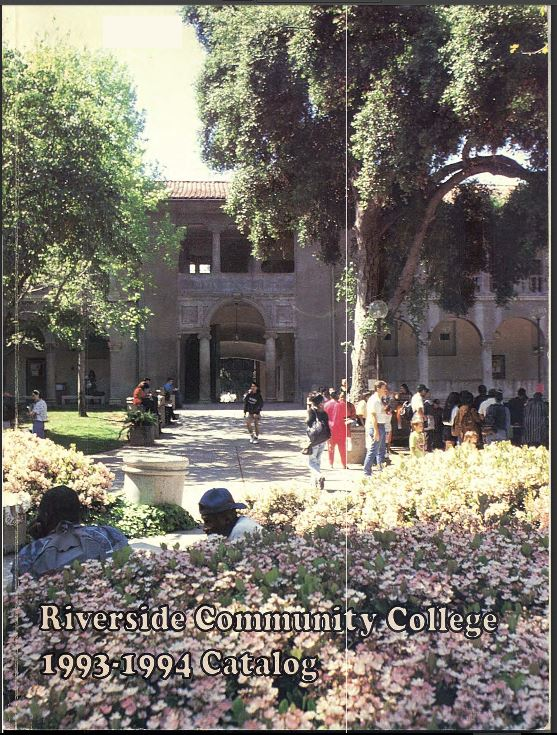 1993-1994 Riverside City College Catalog