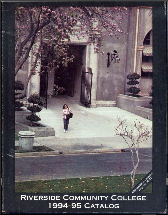 1994-1995 Riverside City College Catalog
