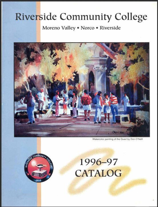 1996-1997 Riverside City College Catalog