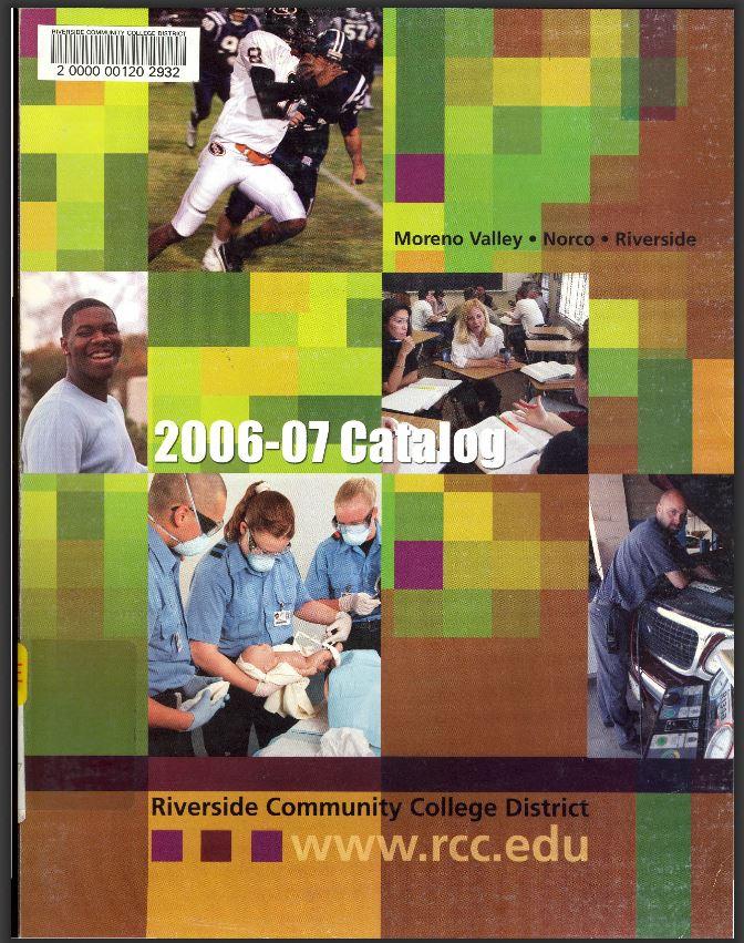2009-2010 Riverside City College Catalog