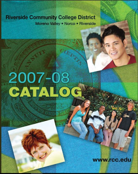 2007-2008 Riverside City College Catalog