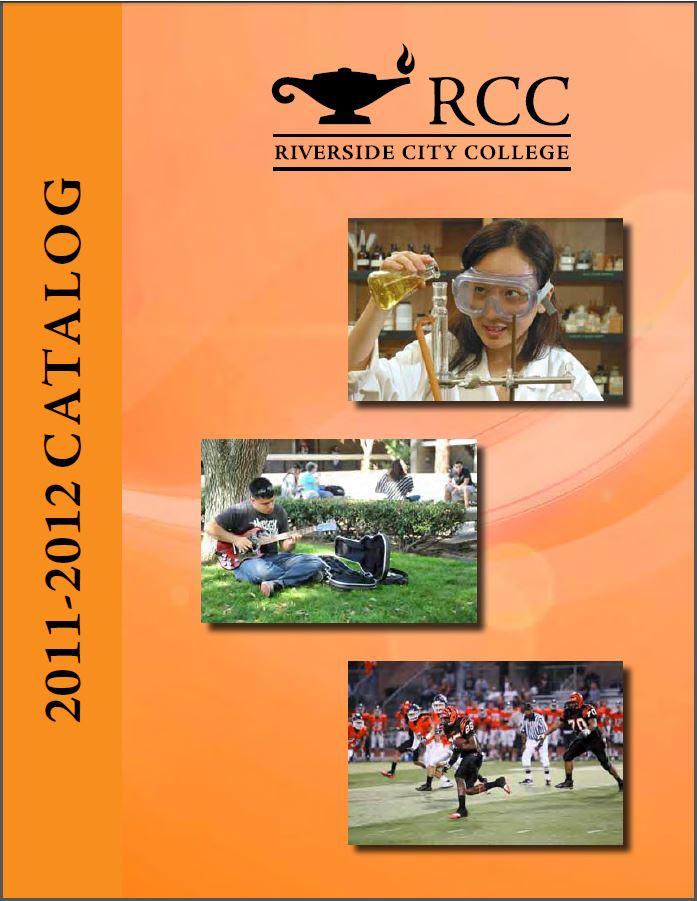 2011-2012 Riverside City College Catalog