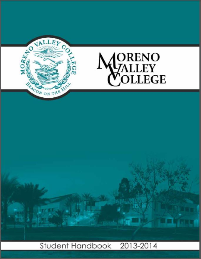 MVC Student Handbook 2013-14